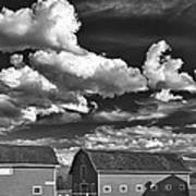Clouds Over Knox 13804b Art Print