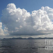 Clouds Over The Andaman Sea Art Print