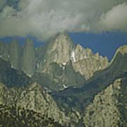 Clouds Shadow Rocky Mountain Peaks Art Print
