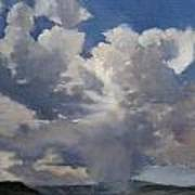 Cloudscape Art Print by Victoria  Broyles