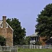 Clover Hill Tavern And Kitchen Appomattox Virginia Art Print