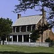 Clover Hill Tavern Appomattox Virginia Art Print by Teresa Mucha