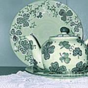 Clover Tea  Art Print