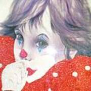 Clown Baby Art Print