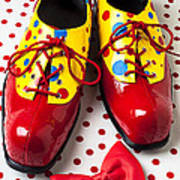 Clown Shoes  Art Print