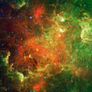 Clusters Of Young Stars In The North Art Print