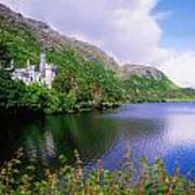Co Galway, Ireland, Kylemore Abbey Art Print
