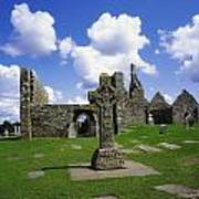 Co Offaly, Clonmacnoise Art Print