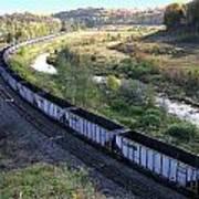 Coal Train - Johnstown  Art Print