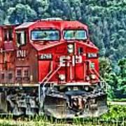 Coal Train Hdr Art Print