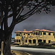 Coastal Architecture One Art Print