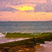 Coastal Climate Art Print