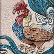 Cock A Doodle Doo Art Print