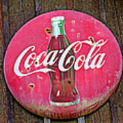 Coco Cola Sign Art Print by Garry Gay