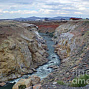 Cody Wyoming River Art Print