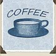 Coffee 1-2 Scrapbook Art Print