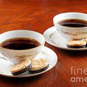 Coffee And Cookies Art Print