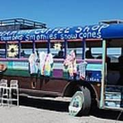 Coffee Bus Art Print