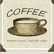 Coffee Cup 3 Scrapbook Art Print
