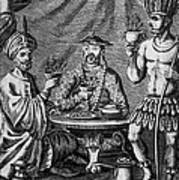 Coffee, Tea & Chocolate, 1685 Art Print by Granger