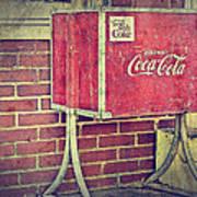 Coke Box Art Print
