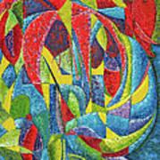 Colibri Art Print by Joseph Edward Allen