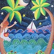 Collecting Stars Art Print