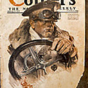 Colliers Cover Jan 5 1918 Art Print