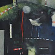 Colombe Dans Le Cirque De Nuit Art Print
