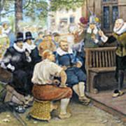 Colonial Smoking Protest Art Print