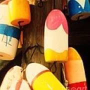 Color Blocks Art Print by Julia-Rose Liptak