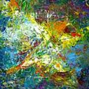 color explosion NO. Seventy Art Print