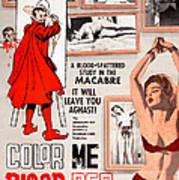Color Me Blood Red, Gordon Oas-heim Art Print