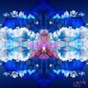 Color Sky Orchid Art Print