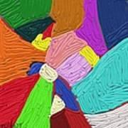 Color Tectures Art Print