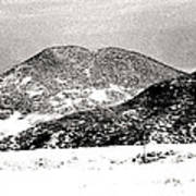 Colorado 2 In Black And White Art Print