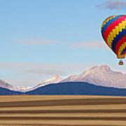 Colorado Ballooning Art Print