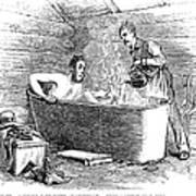 Colorado Bathhouse, 1879 Art Print
