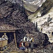 Colorado Silver Mines, 1874 Art Print