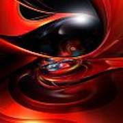 Colorfast Eye Remaster Fx  Art Print