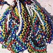 Colorful Beads Jewelery Art Print