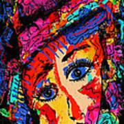 Colorful Expression 19 Art Print