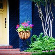 Colorful Porch Art Print