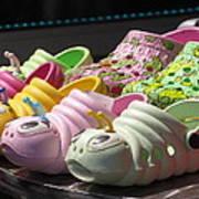 Colorful Shoe Art Print