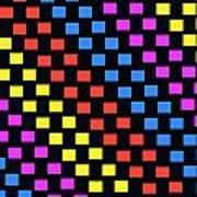 Colorful Squares Art Print