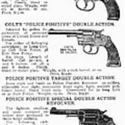 Colt Revolvers Art Print