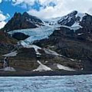 Columbia Glacier Art Print