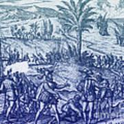 Columbus Arrested Art Print