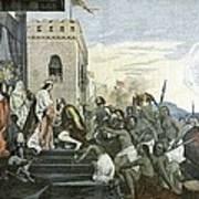 Columbus' Return From The Americas Art Print