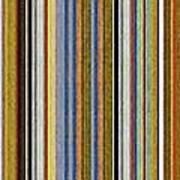 Comfortable Stripes Vlll Art Print